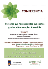 Conferencia Autoempleo Sostenible