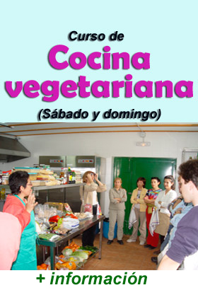 curso Cocina Vegetariana