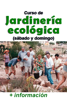 Curso de jardinería ecológica